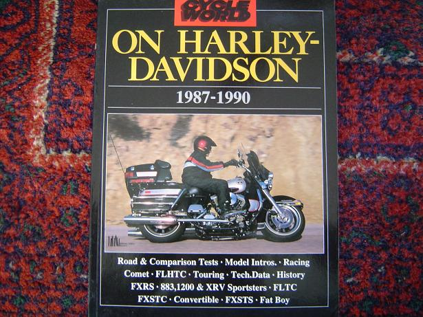 CYCLE WORLD on HARLEY DAVIDSON 1987 – 1990  HELD