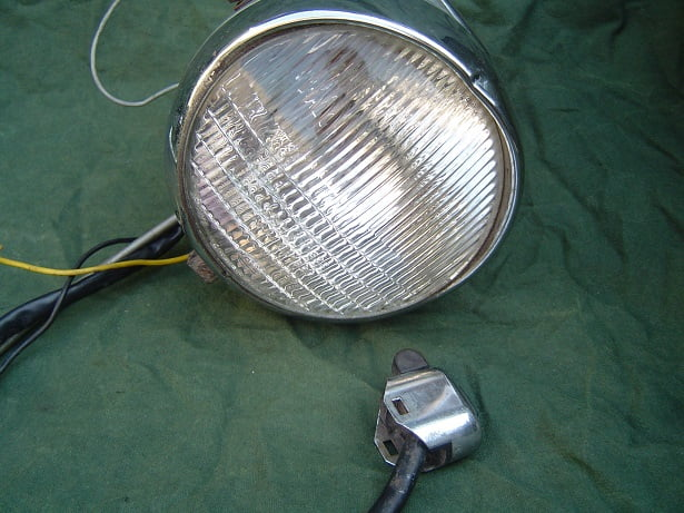 PUCH ?? 1967 motor koplamp motorcycle headlamp with speedo
