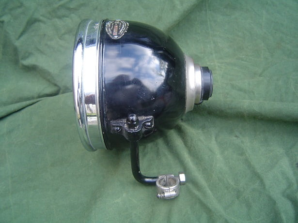 1920's motorcycle headlamp France  R. COLIN A2 motor koplamp