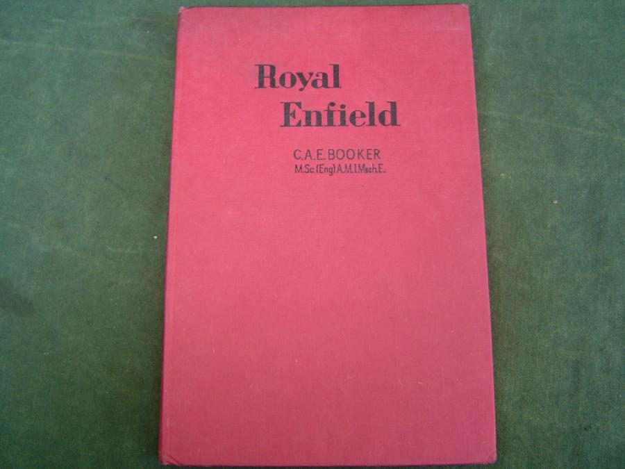 ROYAL ENFIELD guide for owners and repairs by C.A.E. Booker 1949