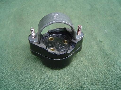 bakelieten dimlicht schakelaar bakelite dip switch german 1930 / 1940