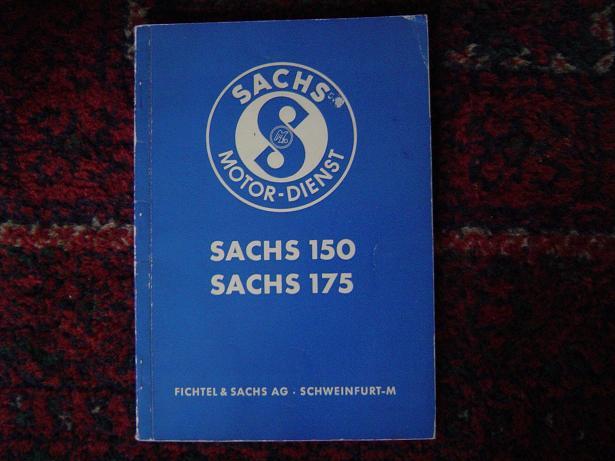 SACHS 150 en 175   1953  sachs motordienst