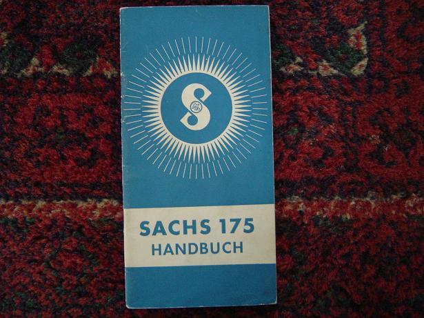 SACHS 175  1953 handbuch