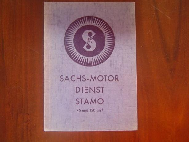 SACHS STAMO 75 cc 120 cc 1940 reparatur – anleitung