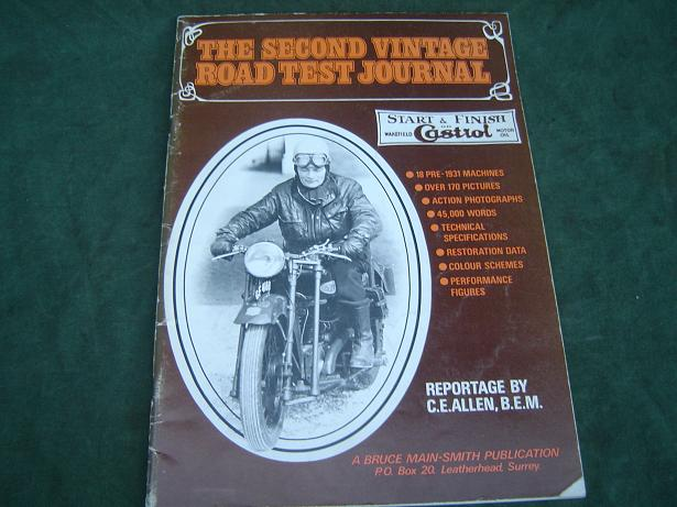 The Second vintage roadtest journal