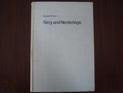 Sieg und niederlage   Deubel / Hörner   BMW zijspan  weltmeister