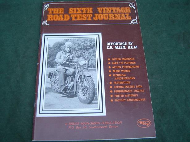 The Sixth vintage roadtest journal