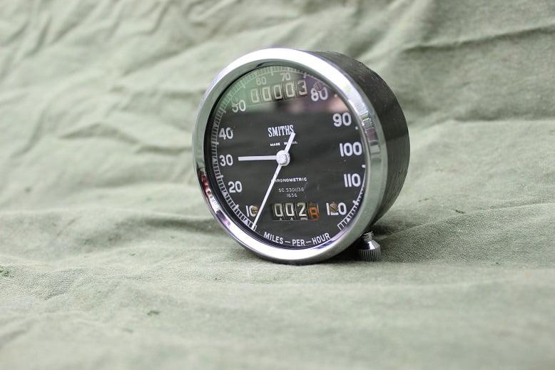 SMITHS 120 MPH SC5301/38 chronometric speedometer tacho mijlenteller