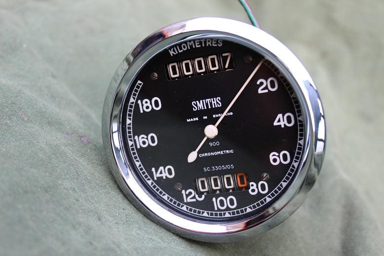 SMITHS SC 3305/05 180 KM chronometric kilometer teller speedometer tacho