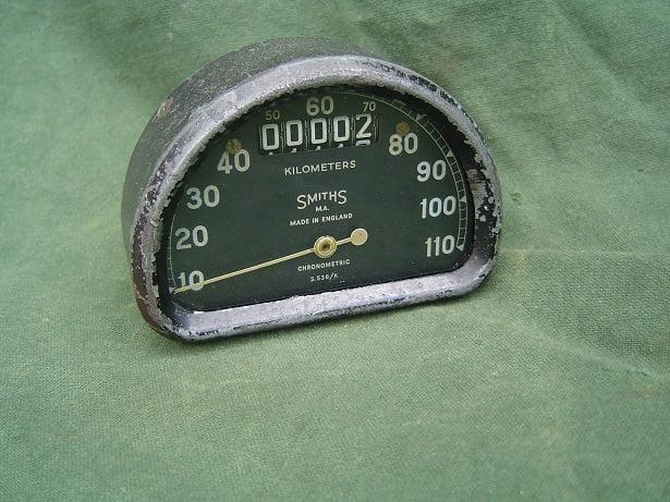 SMITHS S538/K 110 KM D type speedo meter tacho  S 538 kilometer teller