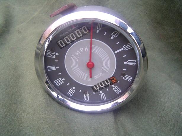 SMITHS SC3313/02  1260 120 mph chronometric speedometer BSA ? HELD reserved