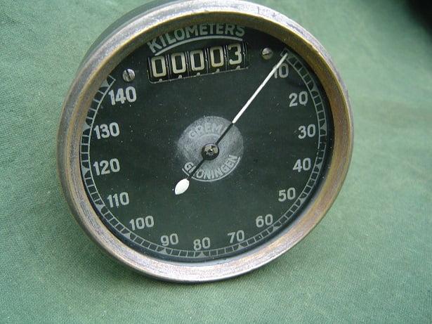 SMITHS 140 KM GREMI chronometric kilometer teller speedometer