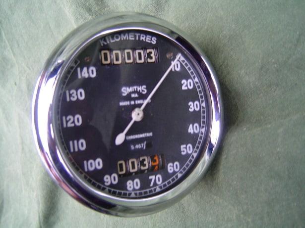 SMITHS S467 140 KM chronometric kilometer teller speedometer  HELD reserved