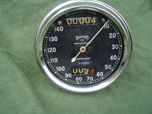 Smiths S467/85 140 Km chronometric kilometerteller speedo tacho