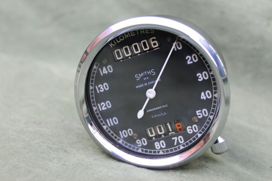SMITHS S480/5/L 140 KM chronometric speedometer tacho kilometer teller