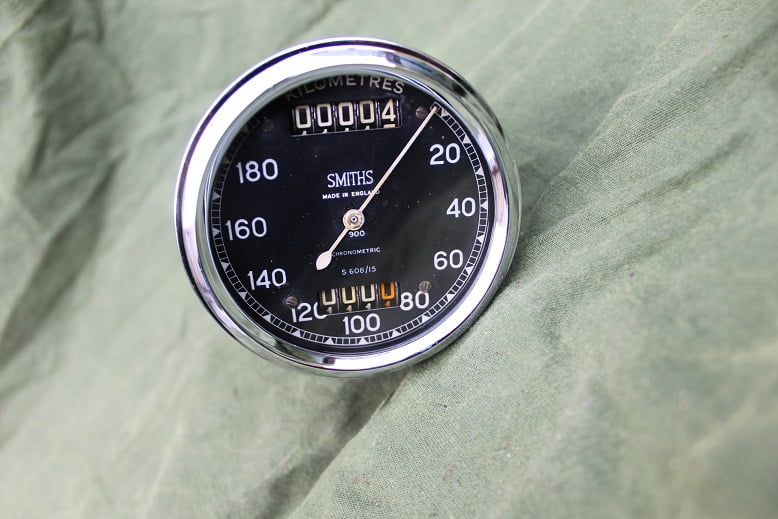 SMITHS S608/15 180 KM chronometric kilometerteller speedometer tacho