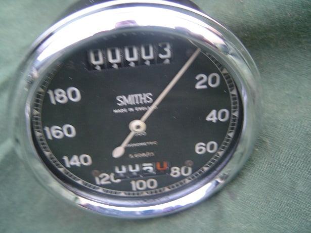 SMITHS S608/15 180 KM chronometric speedometer kilometer teller tacho BSA ??