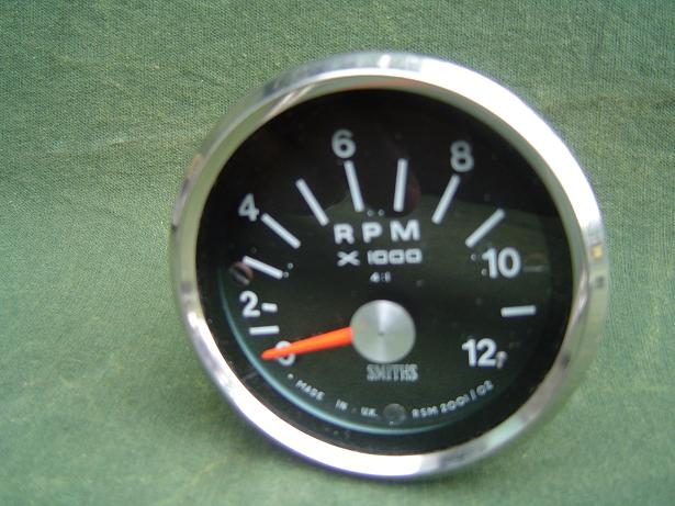 SMITHS toerenteller 12000 RPM 4:1 tacho rev counter