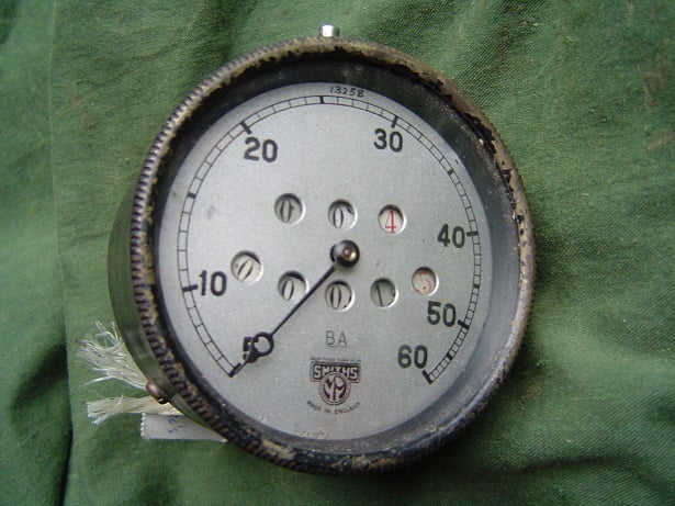 SMITHS BA 60 miles with trip speedometer 1920's