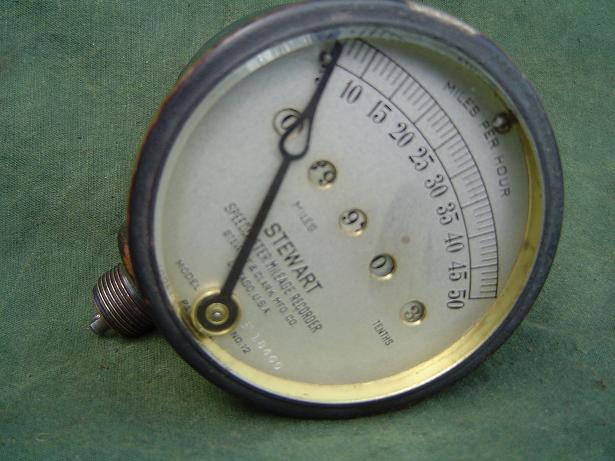 STEWART model NO.12  50 miles speedometer milage recorder 1915