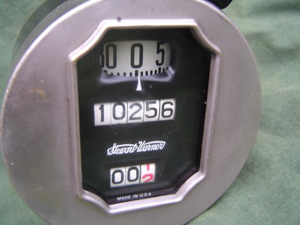 STEWART WARNER 80 miles ? teller speedo tacho 1930's ? FORD ??
