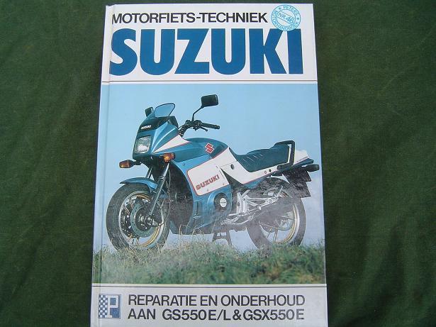 SUZUKI GS 550 E/L en GSX 550 E 1983 – 1985 werkplaatshandboek