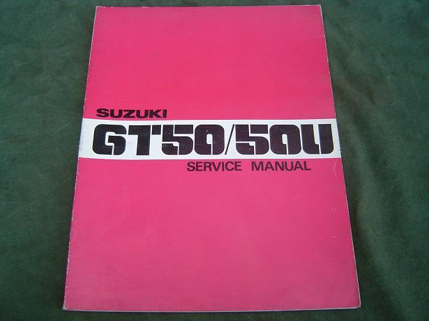 SUZUKI GT 50 / 50 U 1977 service manual
