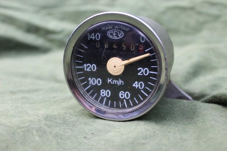 CEV 140 KM teller speedometer tachometer kilometer teller ducati ??