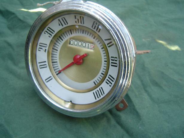STEWART WARNER  1937 teller speedometer