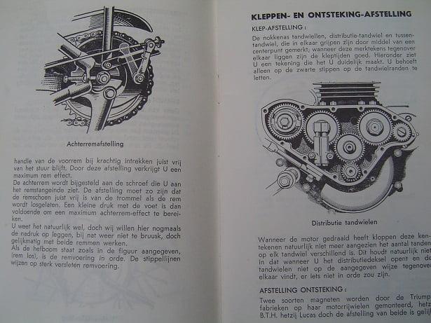 Triumph Twee Cylinder Modellen Vanaf 1948 3hw 5t 6t T100