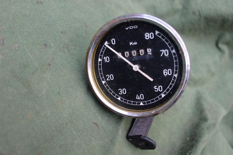 VDO 80 KM teller 1942 ? tachometer speedometer