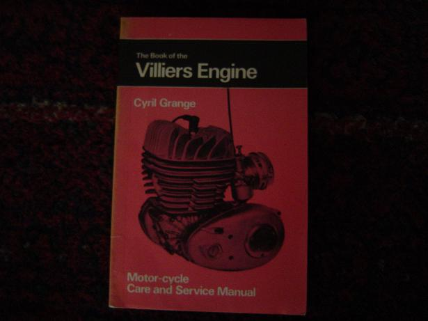 the book of the VILLIERS ENGINE  Cyril Grange