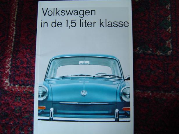 VW 1,5 liter klasse en Variant 1964  folder