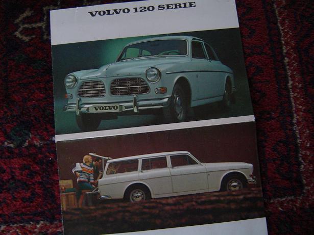 VOLVO  120 serie  1966   folder