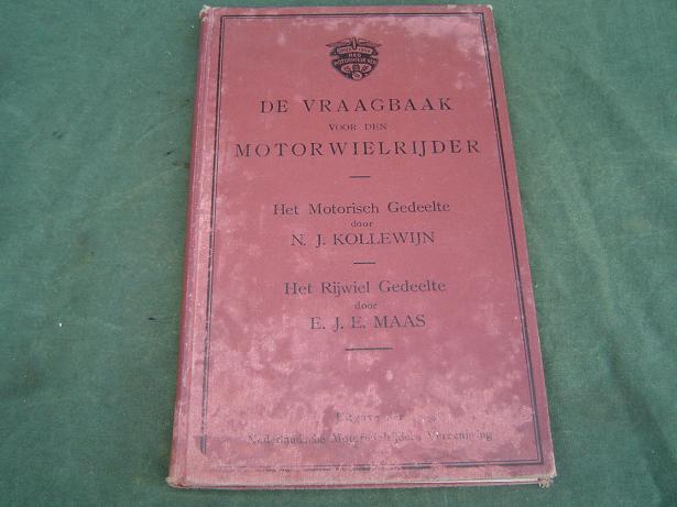 de vraagbaak voor den motorrijwielrijder NMV +/_ 1920