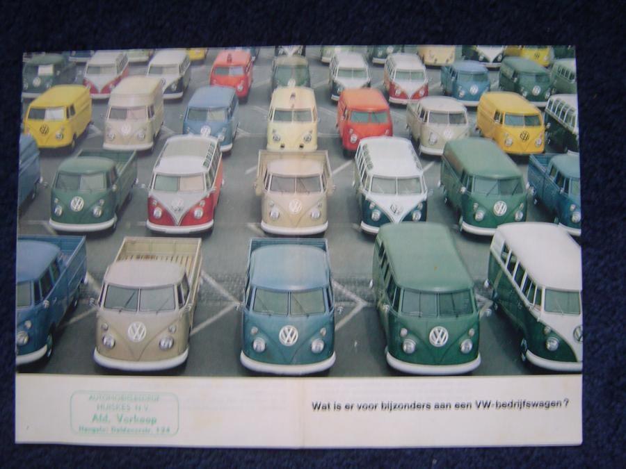 VW T1 folder wat is er bijzonder aan VW bedrijfswagen