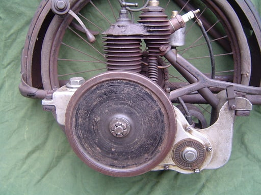 the WALL AUTO WHEEL 1916 ? cyclemotor engine autowheel 118 cc SOLD