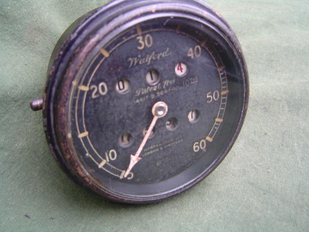 WATFORD 60 miles speedometer 1920's  teller  tacho  speedo