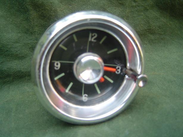 WESTCLOX USA 12 volts auto klokje 1960  car watch 57 mm