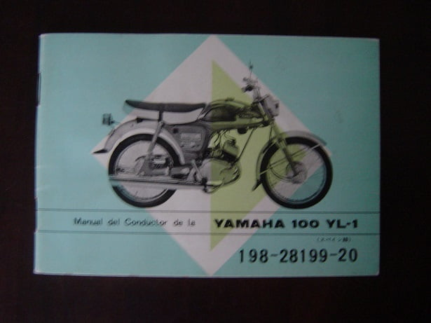 YAMAHA  100 YL-1 manual del conductor 100 YL-1