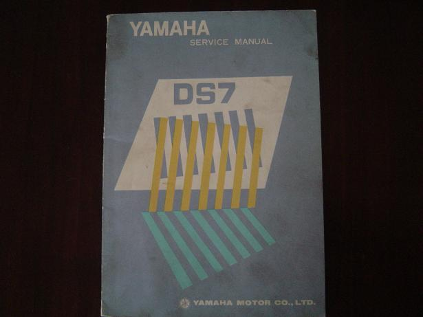 YAMAHA DS7 1972 ? service manual DS 7 werkplaatsboek 247 cc two stroke twin