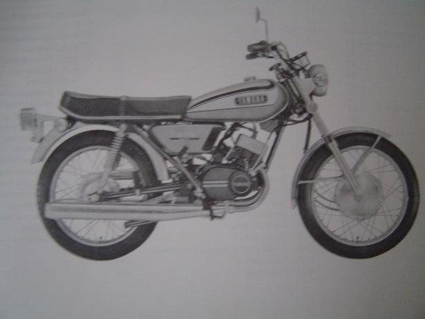 Yamaha Rd 125 Rd 200 1973 Service Manual Rd175 Rd200