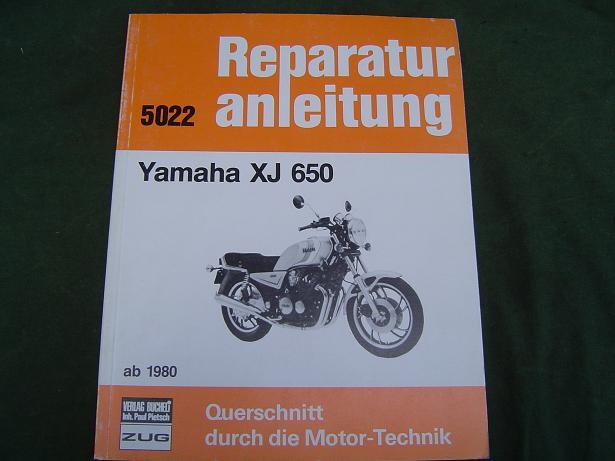 YAMAHA XJ 650 reparatur anleitung ab 1980