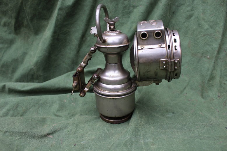 PRINCE OF WALES carbidlamp acetylene lamp karbidlampe