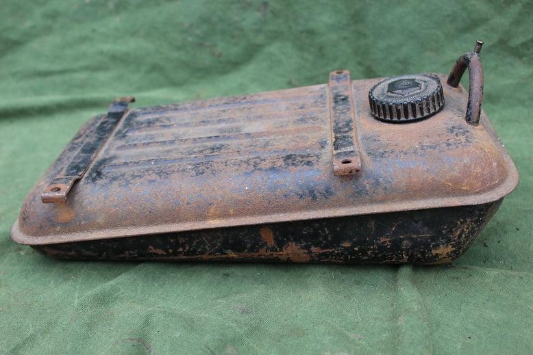 MOSQUITO 1950's hulpmotor tank cyclemotor petrol tank hilfsmotor benzin tank