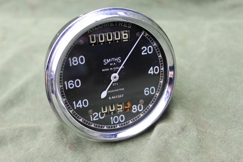SMITHS S467/167 180 chronometric kilometer teller speedometer tachometer