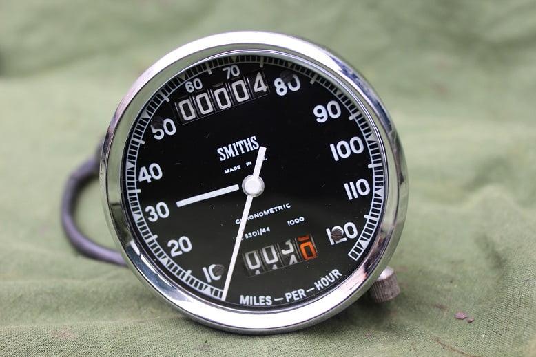 SMITHS SC5301/44  120 Mls chronometric speedometer tacho mijlenteller