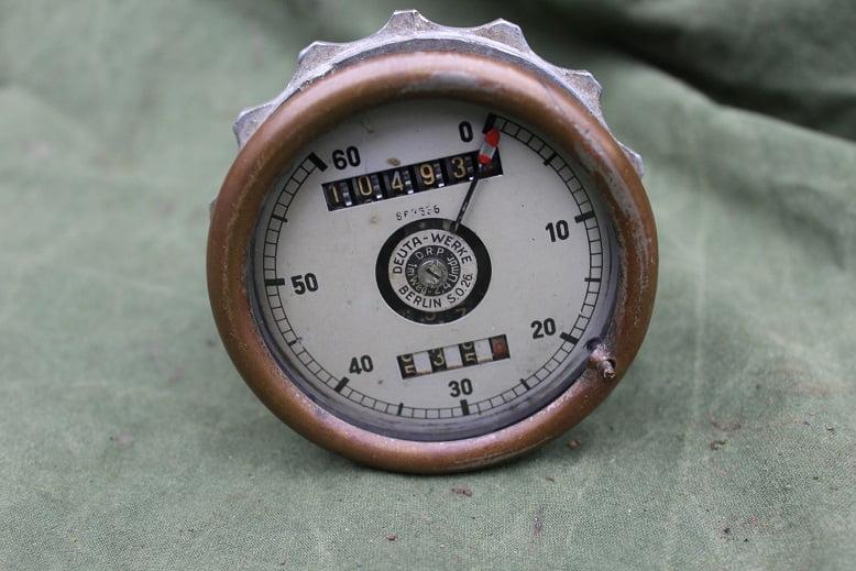 DEUTA 60 kilometer teller tacho speedometer Deuta Werke Berlin