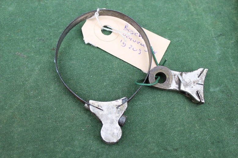 BOSCH advance retard ring for magneto vervroeger ring voor Bosch magneet jaren 10/20