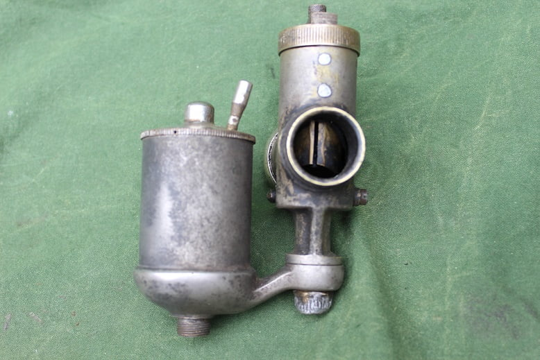 AMAC 15PJY 1920's bronzen carburateur brass vergaser carburettor SOLD verkocht